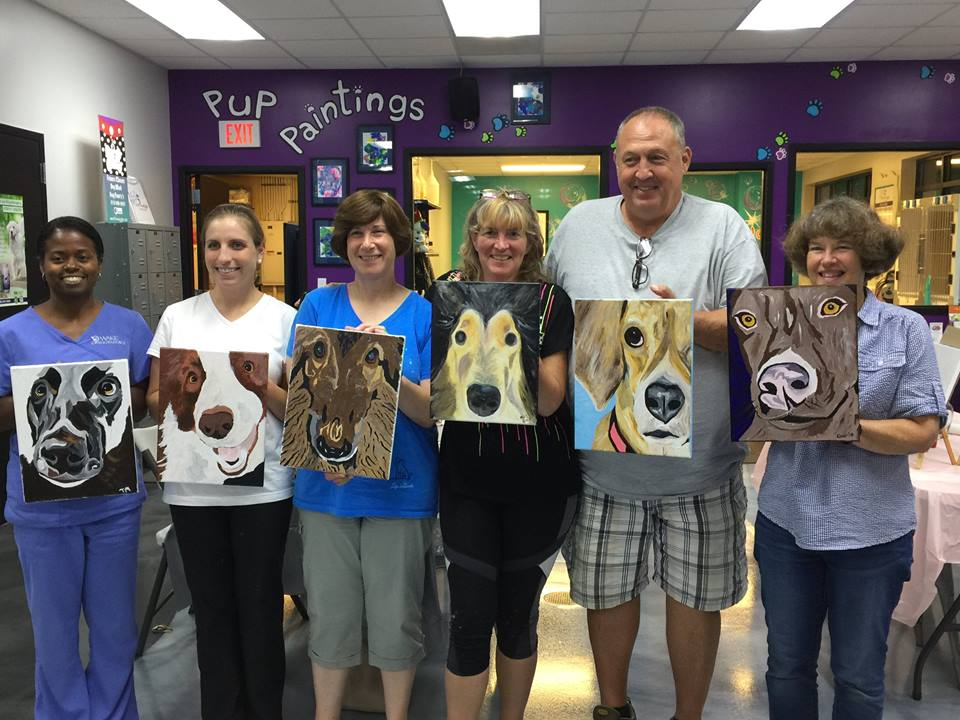 Painting Classes in Raleigh